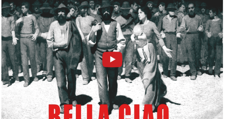 "Il mondo canta ""Bella Ciao"" – video"