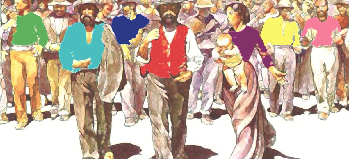 Magliette rosse, azzurre, gialle, rosa e blu: l'una non esclude l'altra
